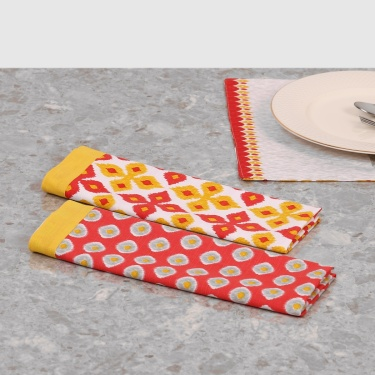 Remaster Printed Kitchen Towel- Set Of 2