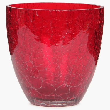 Splendid Crackle Votive Holder