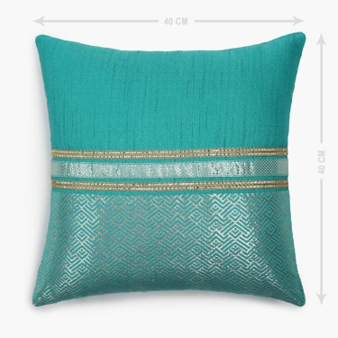 Gala Mewar Cushion Cover Set of 2 - - 40 x 40 cm