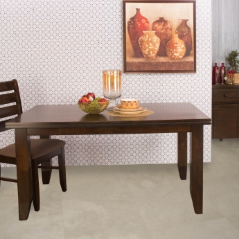 Chunky Dining Table Without Chairs   6 Seater