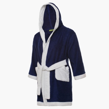 Hooded Kids Bathrobe
