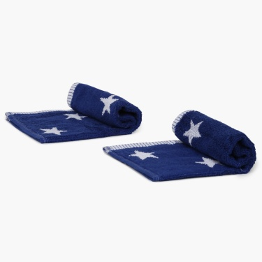 Star Face Towel- Set Of 2