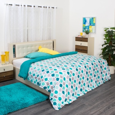 Mandarin Double Bed Duvet Cover - 228 X 274 CM