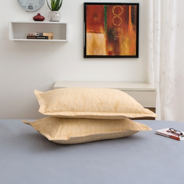 Mandarin Pillow Cover- Set of 2 - 70 X 45 CM
