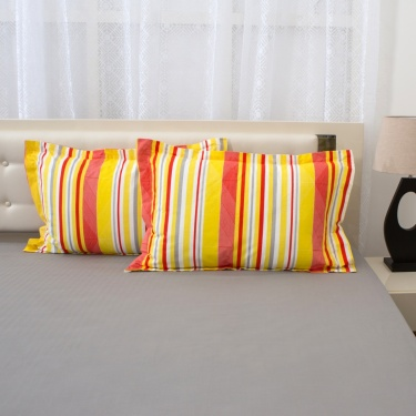 Mandarin Pillow Covers Set-2 Pcs.