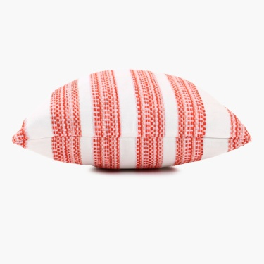 Gala Melange Chennile Striped Cushion Cover - Set Of 2