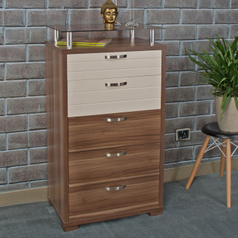 Akron-Crystal Chest of Drawers