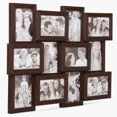 Casandra 12 Aperture Collage Photo Frame