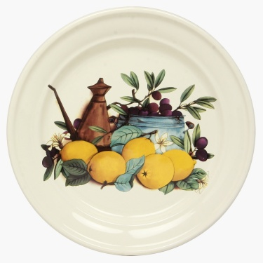 Cranberry Round Plate - 23.5 CM