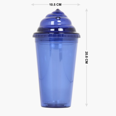 Adventure of U-tron Straw Sipper Bottle- 500 ml.