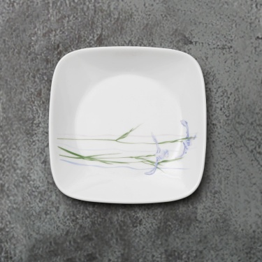 CORELLE Shadow Iris Butter Plate