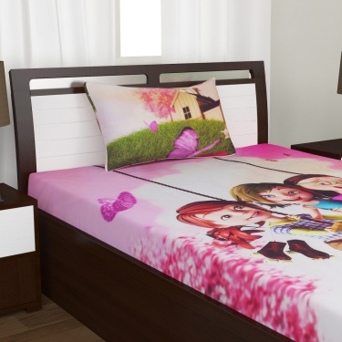 Kids Fabolous3 Single Bedsheet Set