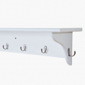 Linch Sleek Shelf 80cm White