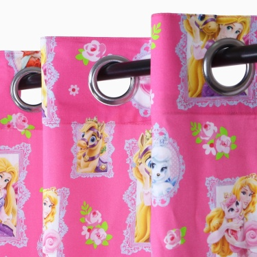 Kids Princess Opaque Window Curtain