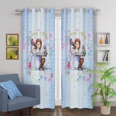 Kids Sofia Single Door Curtain