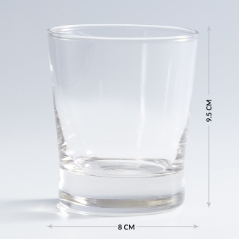 OCEAN Ethan Round Water Glass-Set Of 6 Pcs.