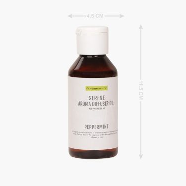 Serene Pepper Mint Aroma Diffuser Oil - 100 ml