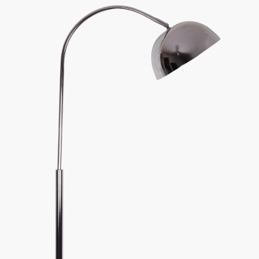 Florida Chrome Single Head Floor Lamp