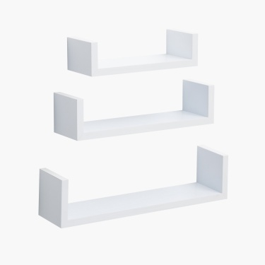 Solid 3-Piece Shelf Set