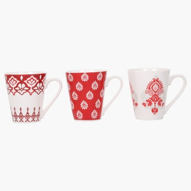 Clara Mugs- Set Of 3 Pcs