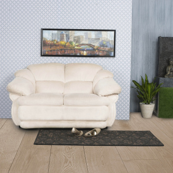 Zecchino Cuddler Fabric Sofa -2 Seater Beige