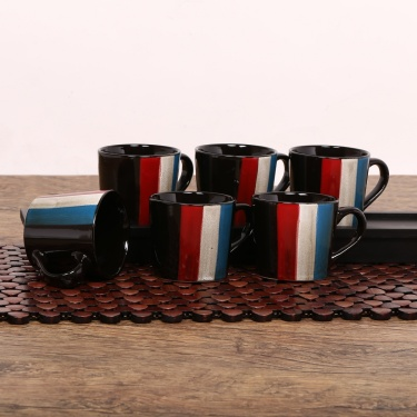 Zade Small Mug- Set Of 6