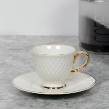 Divine Espresso Cup And Saucer