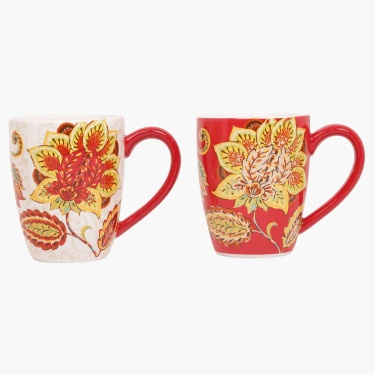 Marigold Ceramic Mug- Set of 2