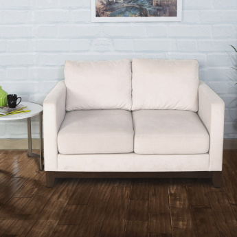 Adalyn Miami Fabric Sofa -2 Seater Beige