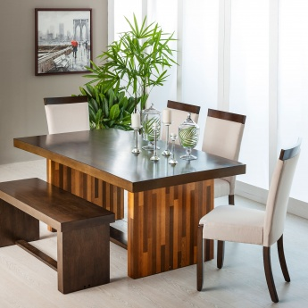 Budapest Dining Table Without Chairs- 6 Seater
