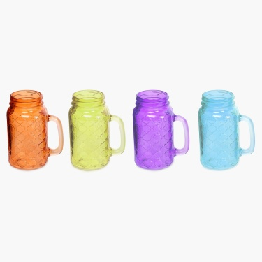 Kinston Mason Jars- 700 ml: 4 Pcs.