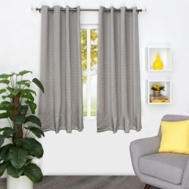 Marshmallow Chenille Window Curtain-Set Of 2-135 x 160 CM