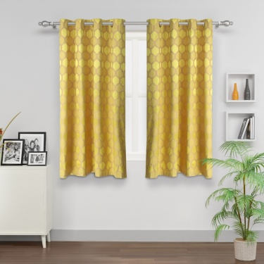 Matrix Griffin Blackout Window Curtain - Set Of 2 Pcs