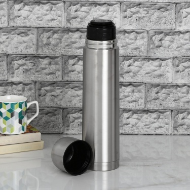 Milano Stainless Steel Insulated Flask With Stopper - 1l