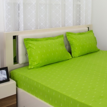 Mandarin Printed 2-Pc. Single Bedsheet Set - 180 x 274 cm