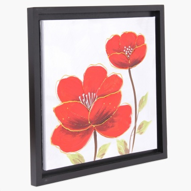 Artistry Floral Hand Painting Frame
