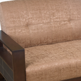 Delport Nomad Fabric Sofa -2 Seater Brown