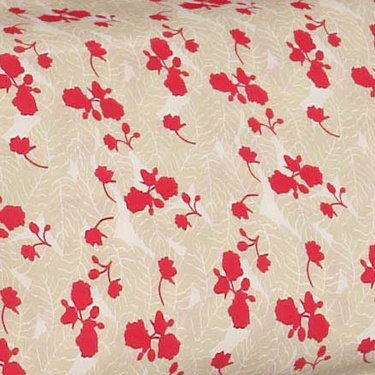 MASPAR Floral Print Cotton Double Bedsheet Set- Set Of 3 Pcs.