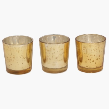 Marigold Votive Candle- Set Of 3