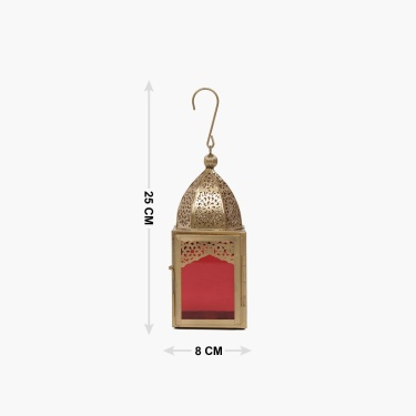 Jaali Hanging Lantern- Set Of 2