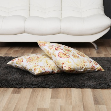 Ebony Nomad Filled Cushion-Set Of 2-65 x 65 CM