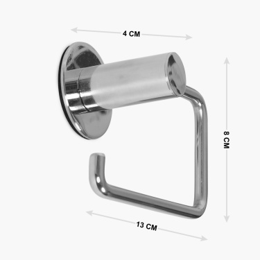 Adrian Aeron J-Shaped Toilet Paper Holder