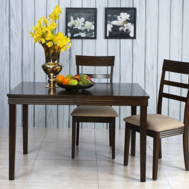 Erin Dining Table Without Chairs - 4 Seater