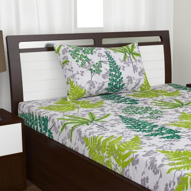 Mandarin Single Bedsheet Set