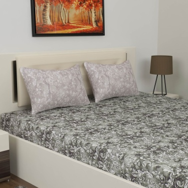 D'DECOR Live Beautiful 3-Pc. Double Bedsheet Set - 274 x 274 cm