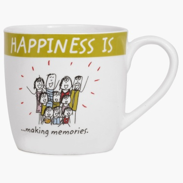 Happiness Making Memories Mug