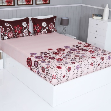 SPACES Intensity Cotton3-Pc. Double Bedsheet Set - 254 x 274 cm