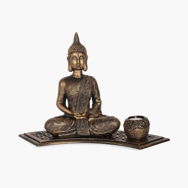 Brit-Fantasy Meditating Buddha Gift Set