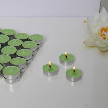 Forest Mist Scented T-Light Candles - Set Of 50