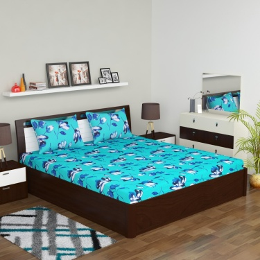 Glory Bedding Set with Comforter - 4 Pcs